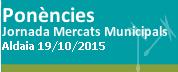 19 d'octubre Jornada Mercats Municipals a Aldaia