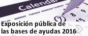 Exposición pública bases ayudas comercio, consumo y artesanía