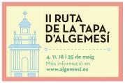 II RUTA DE LA TAPA ALGEMESI