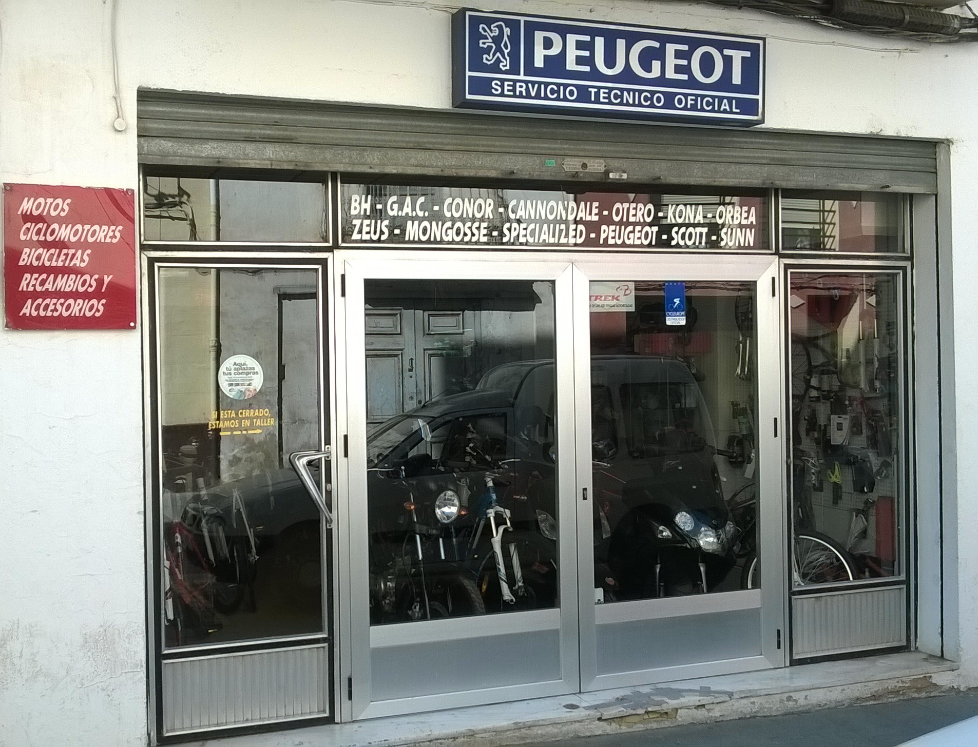 Motos y Bicicletas Goriet