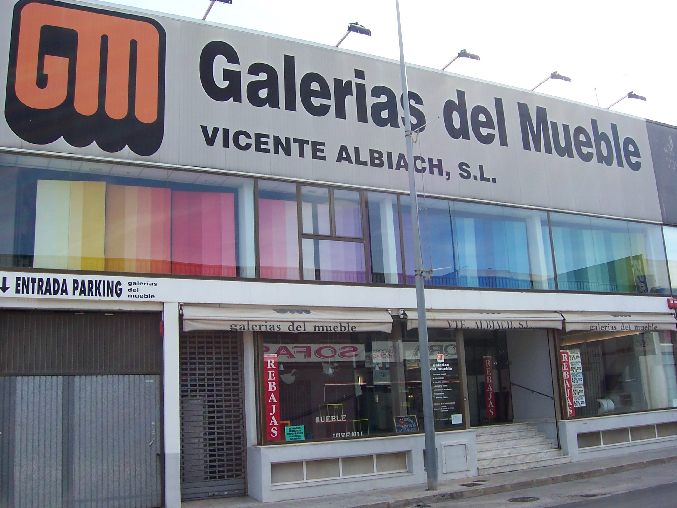 Galeria Comercial Del Mueble Alpuch Office Furniture With Galeria  # Muebles Oiartzun Mamut