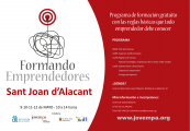 FORMANDO EMPRENDEDORES SANT JOAN D'ALACANT