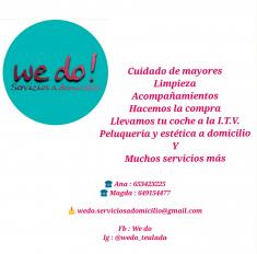 WE DO! SERVICIOS A DOMICILIO