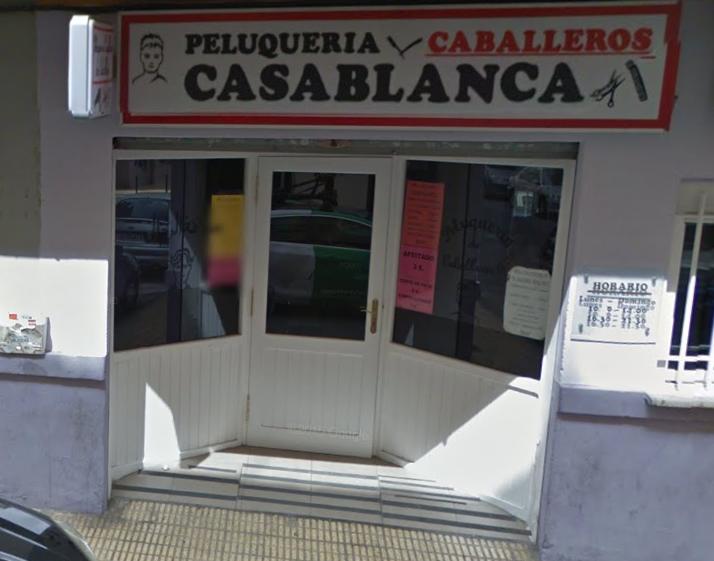 PELUQUERÍA DE CABALLEROS CASA BLANCA