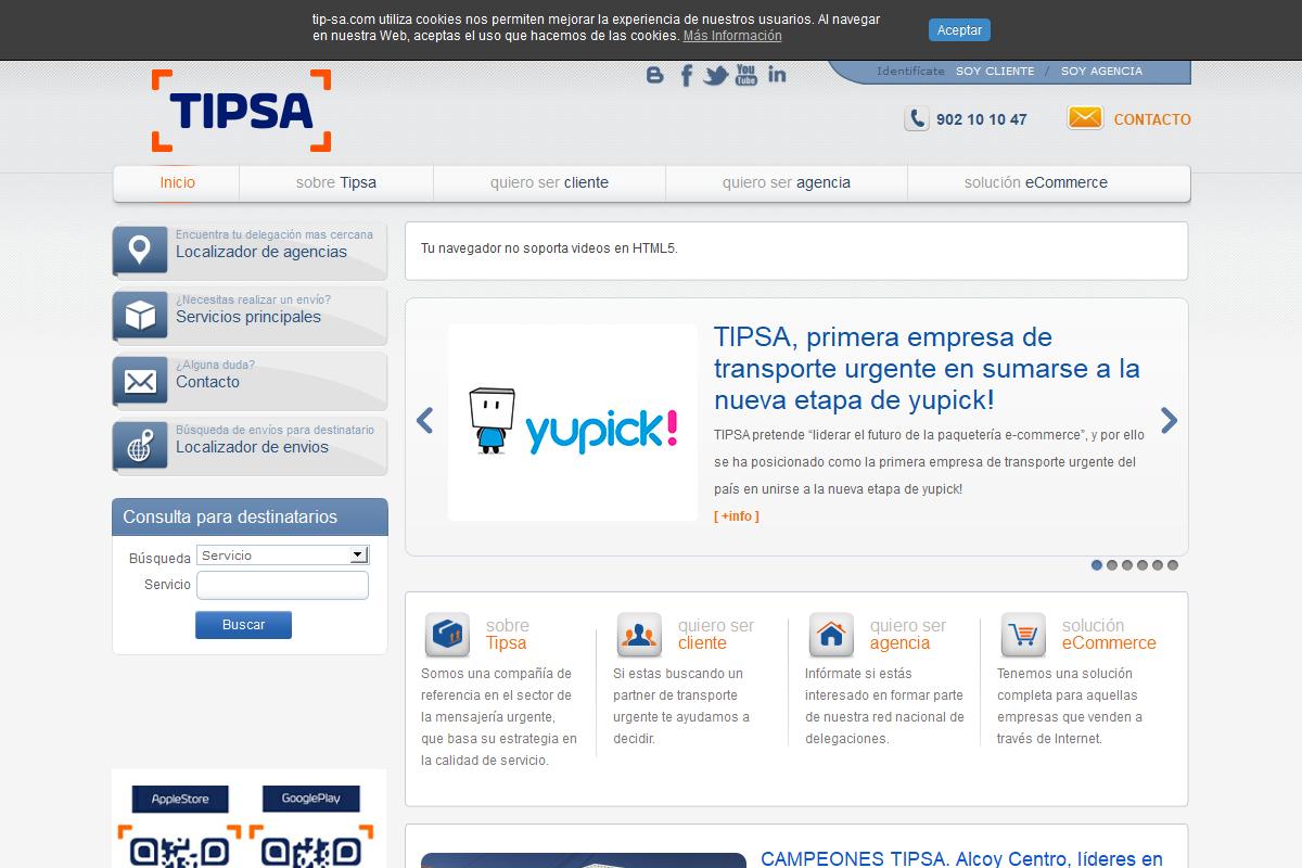 TIPS@ (TRANSPORTE INTEGRAL DE PAQUETERIA)