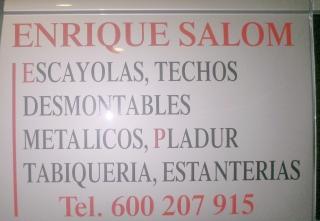 ESCAYOLISTA-  ENRIQUE SALOM