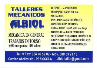 TALLERES MECANICOS ALBIOL
