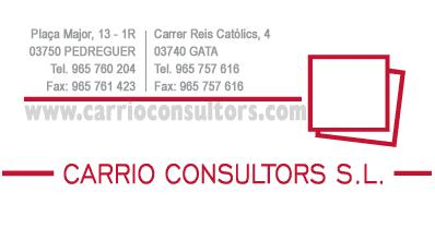 CARRIÓ CONSULTORS S.L.
