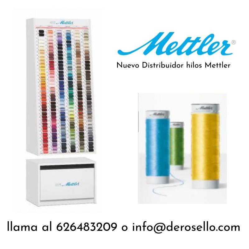 Distribución- venta de hilos Mettler