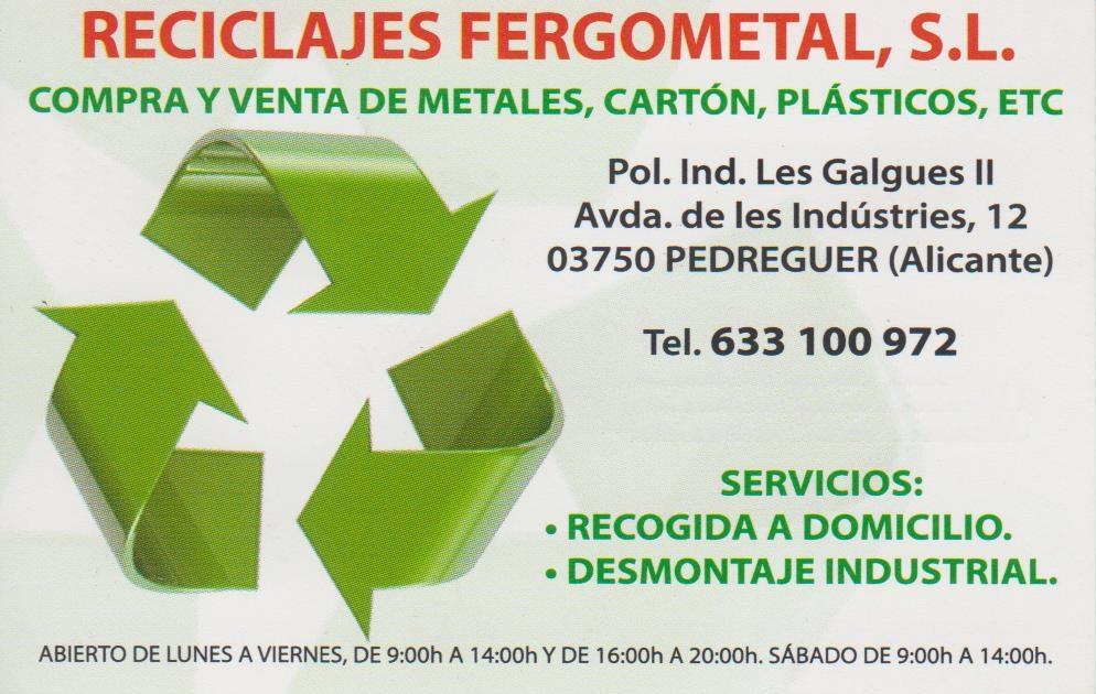 RECICLAJES FERGOMETAL S.L.