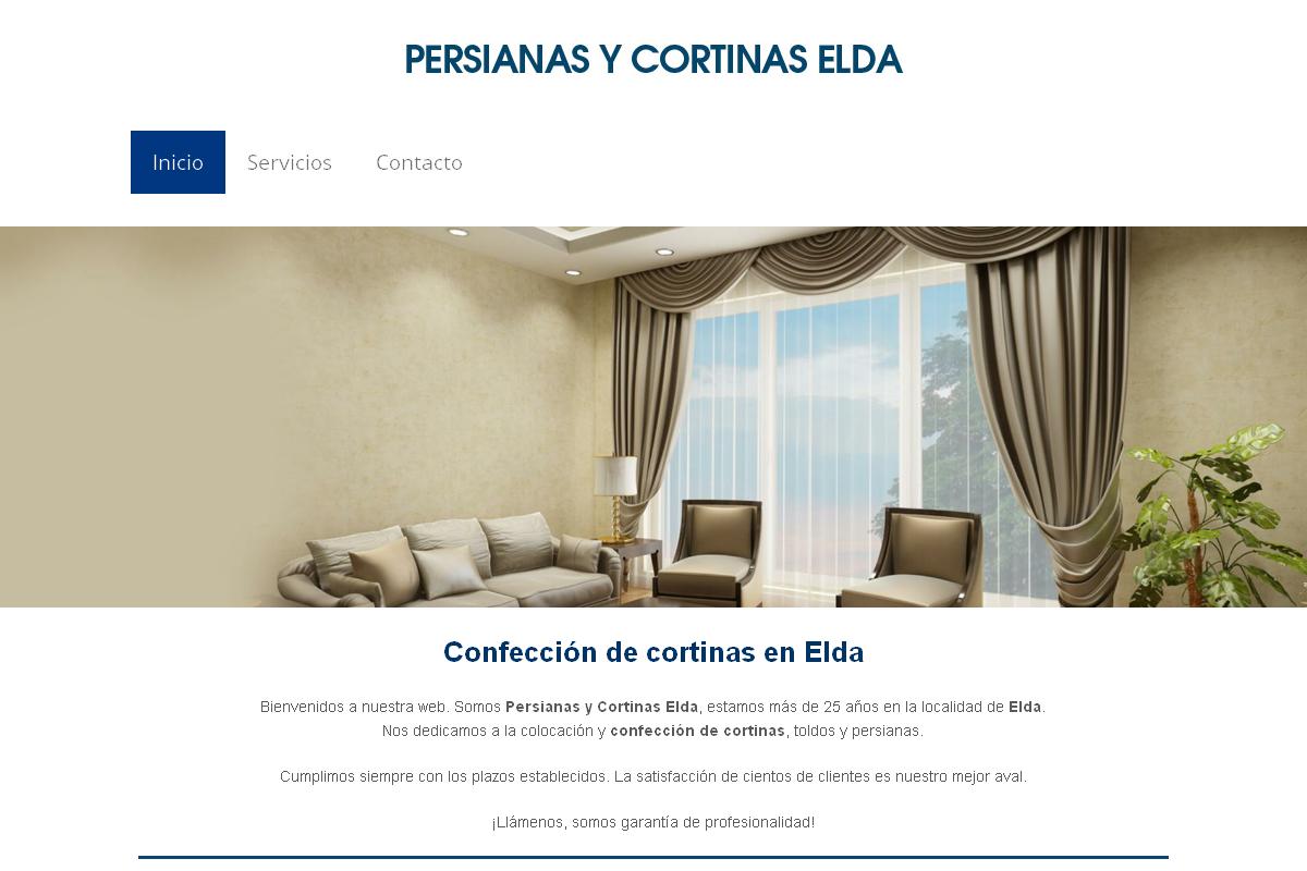 Persianas y cortinas Elda