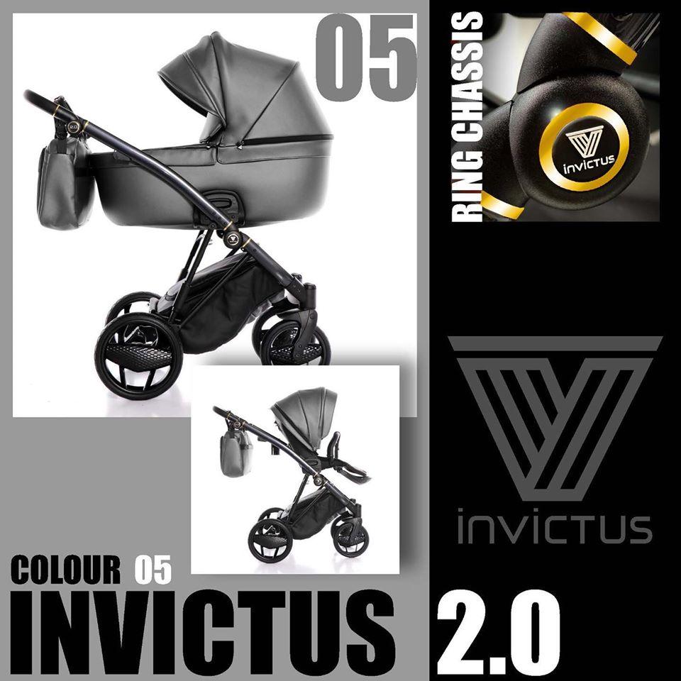 Invictus 2.0 Antracita Right Duo 05 Dark Grey