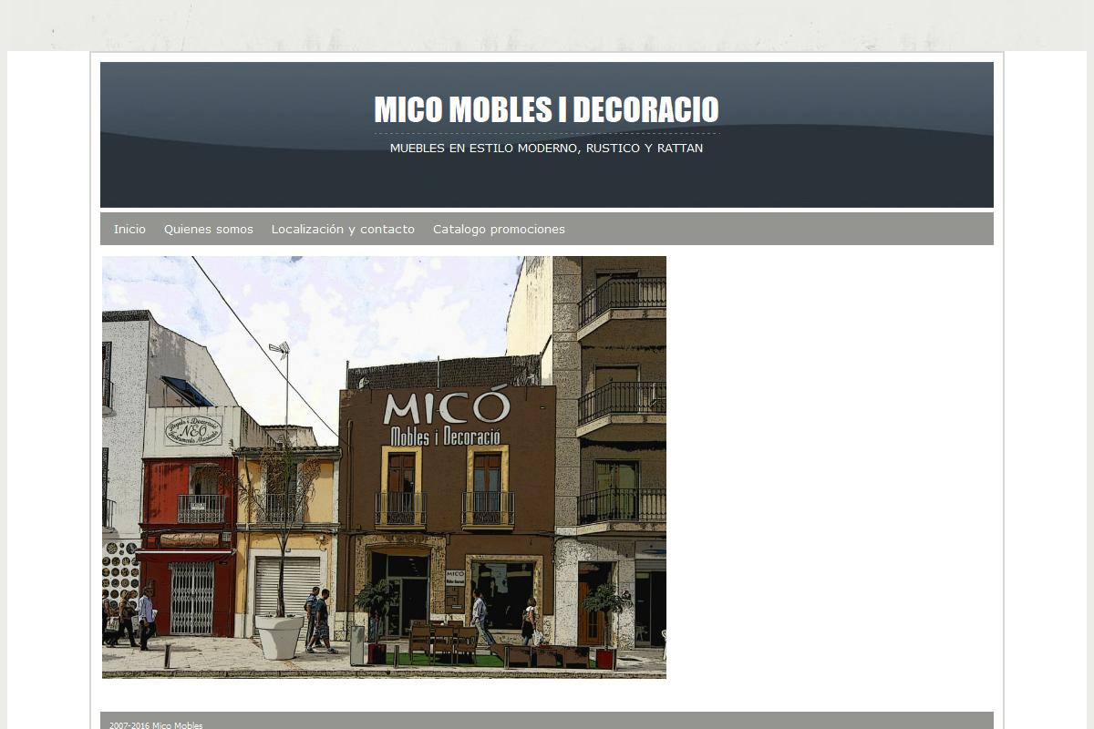 MICÓ MOBLES I DECORACIÓ