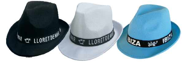 Sombrero publicidad