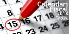 Calendario de tributación 2018 - Picanya