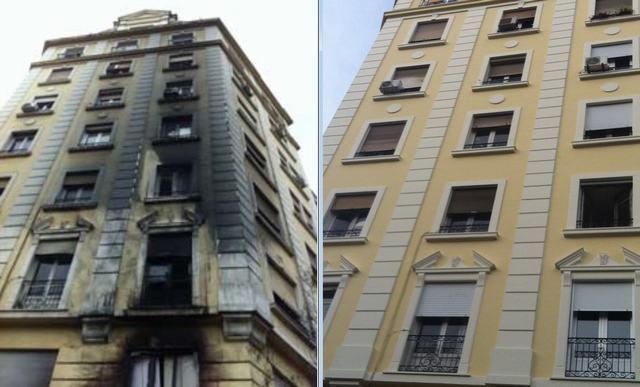 Pintura de fachadas y Rehabilitacion
