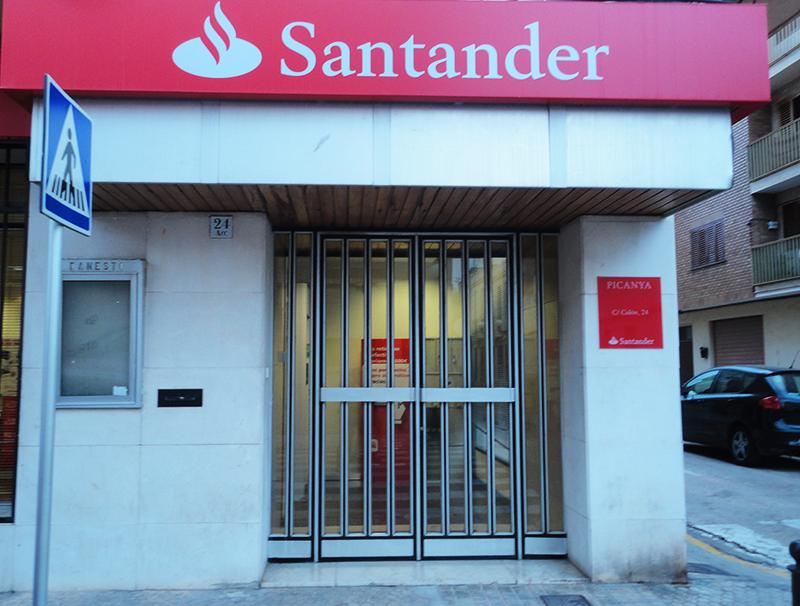 Banco santander ajuntament de picanya directorio for Oficinas banco santander valencia
