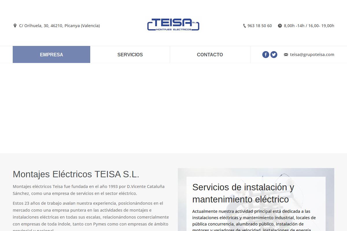 MONTAJES ELÉCTRICOS TEISA S.L.