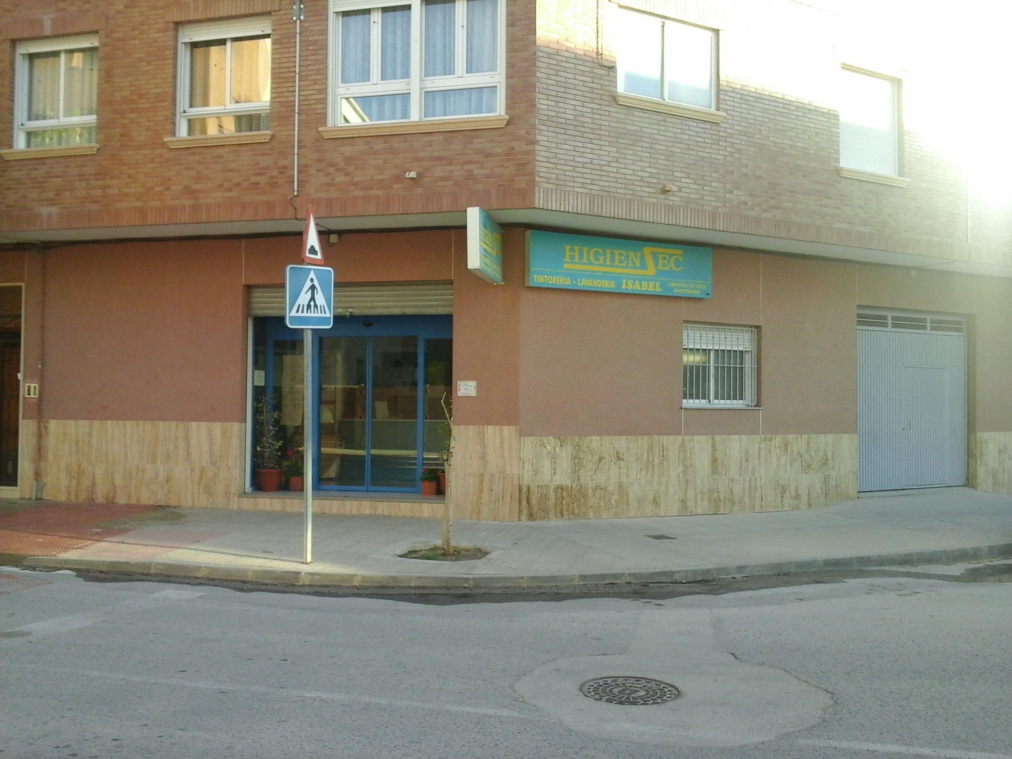 TINTORERÍA-LAVANDERÍA HIGIENSEC-ISABEL