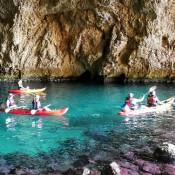 Excursión en kayak con guía y snorkel en Javea