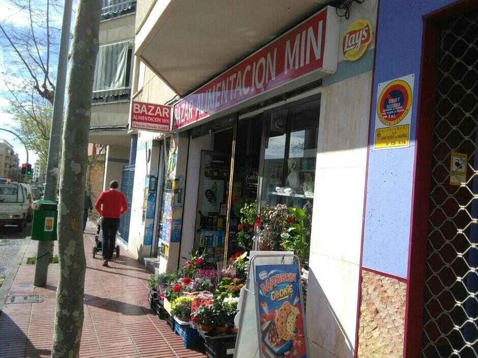 Bazar Alimentación Min