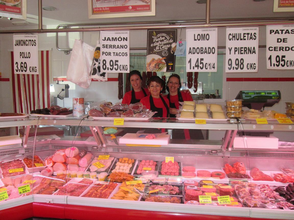 Carnicer a charcuter a prado sim xirivella directorio comercial de la comunitat valenciana - Decoracion carnicerias ...