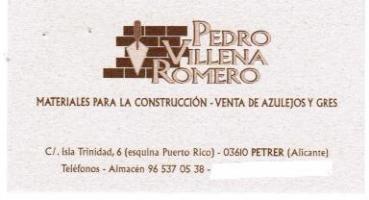 PEDRO VILLENA ROMERO