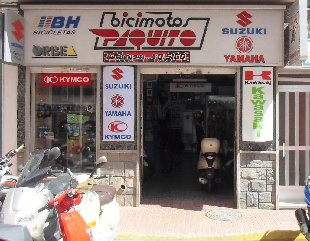 BICI MOTOS PAQUITO