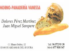 HORNO PANADERIA VANESSA