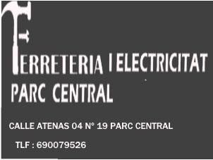 Ferreteria i electricitat Parc Central
