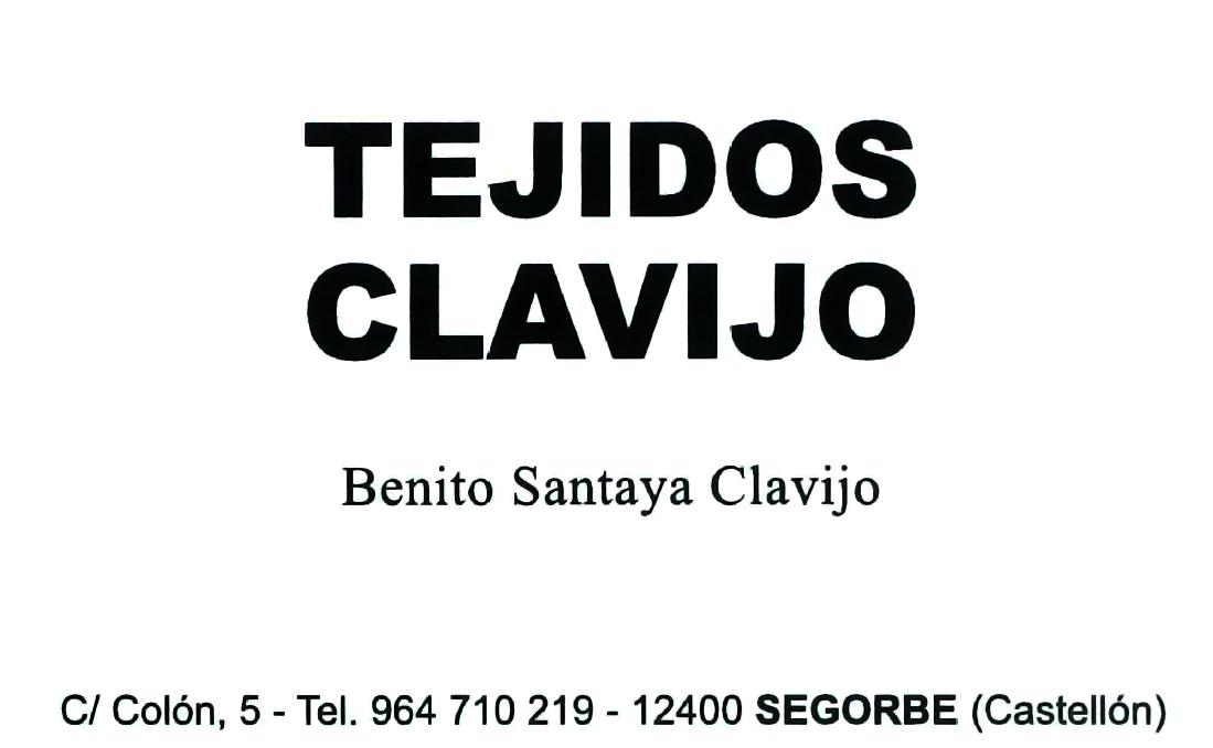 TEJIDOS CLAVIJO