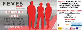 Alzira: Jornada empresas de economía social, una oportunidad para el empleo