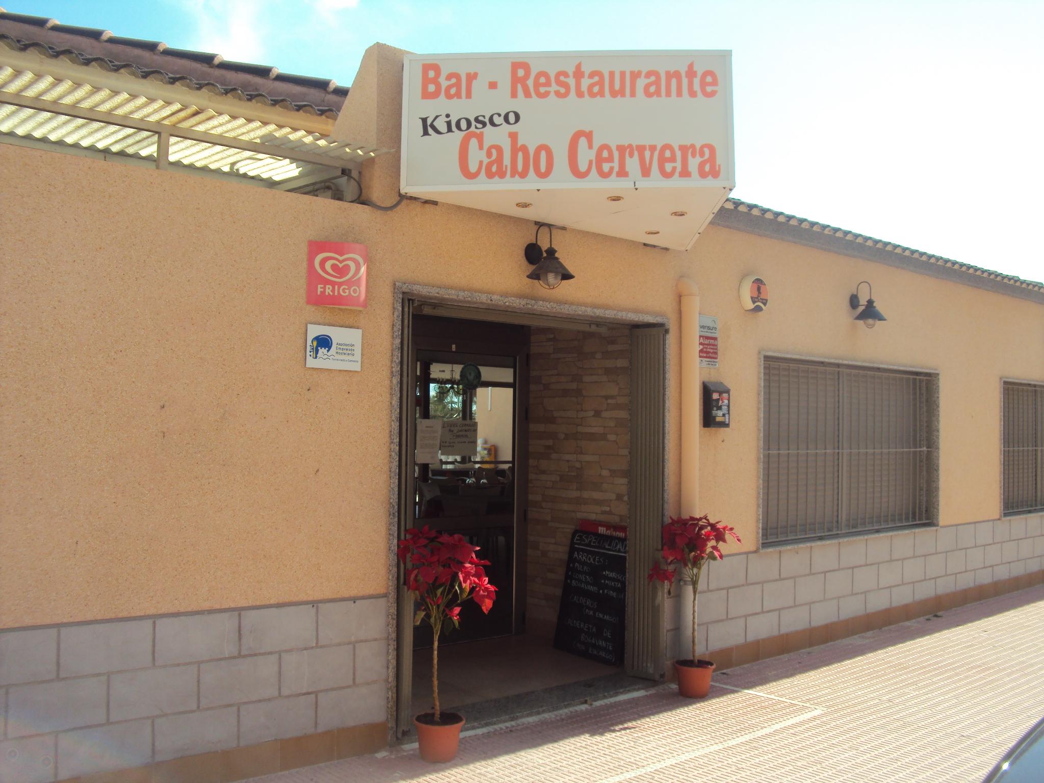 RESTAURANTE KIOSCO CABO CERVERA