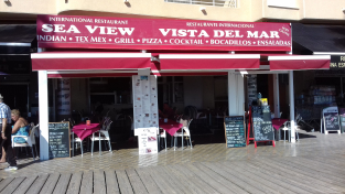 SEA VIEW INTERNATIONAL RESTAURANT LA MATA BEACH