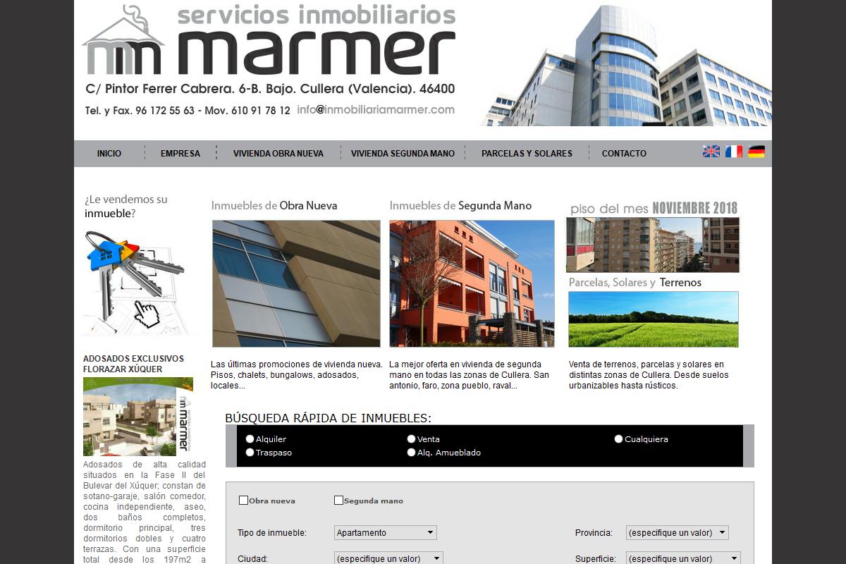Servicios inmobiliarios - Marmer