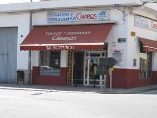 CAMPOS TOLDOS Y PERSIANAS C.B