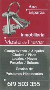 INMOBILIARIA MASIA DE TRAVER