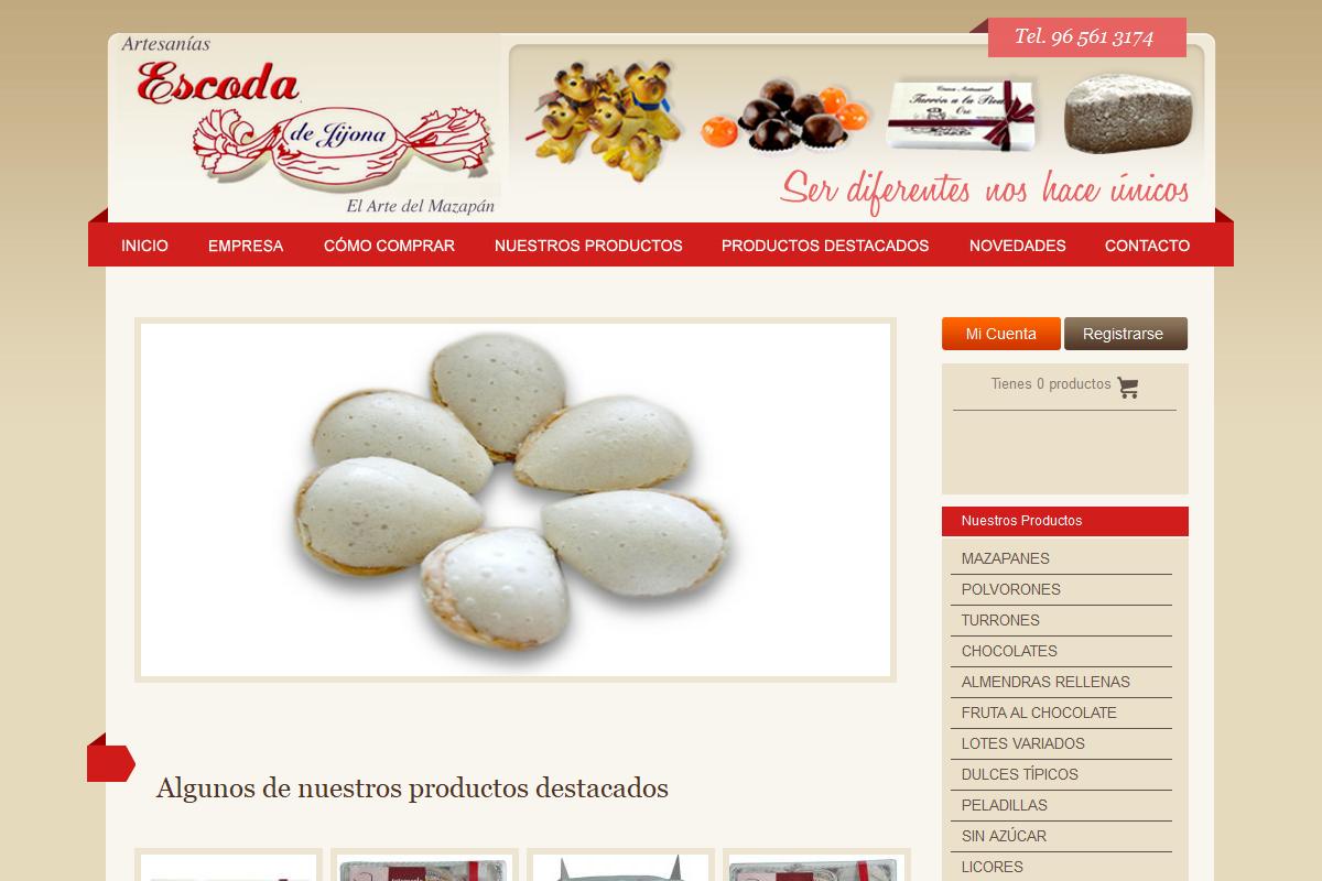 Pastelería Escoda S.L.