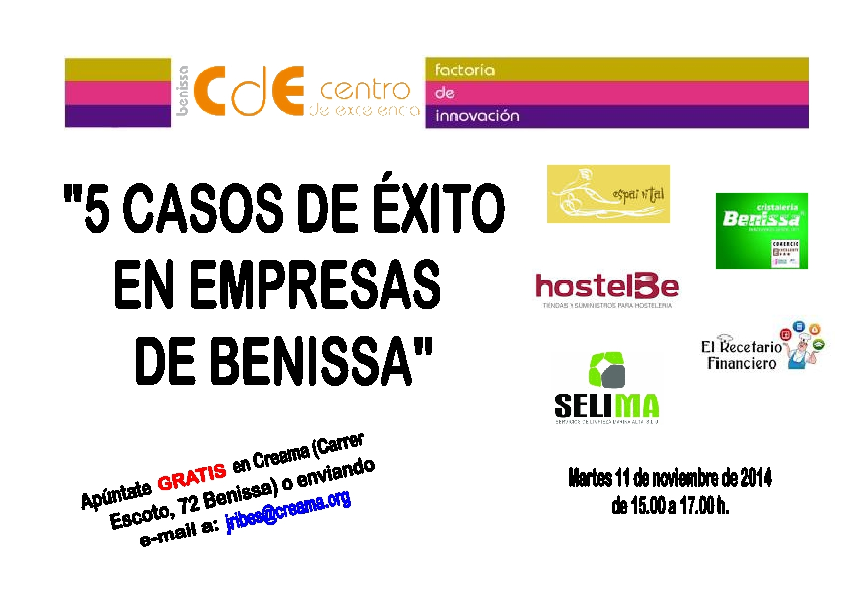 Ajuntament de benissa directorio comercial de la for Cristaleria benissa
