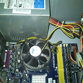 Limpieza interna de equipos informáticos