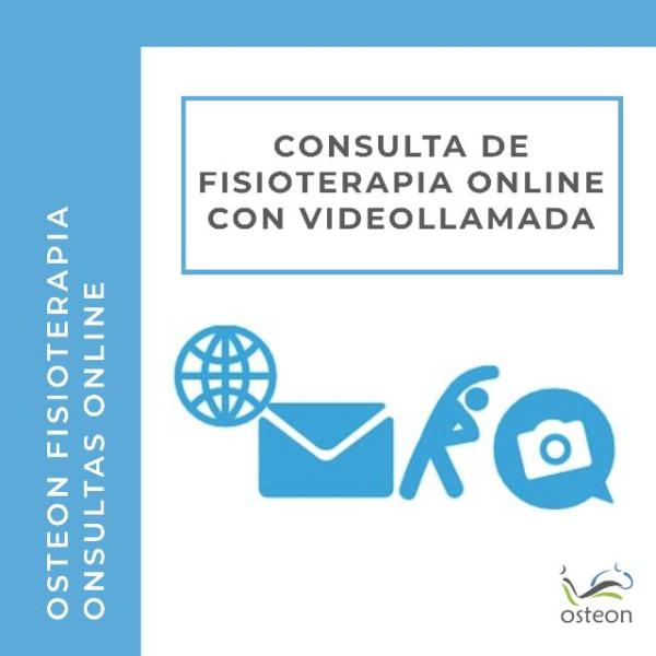 Consulta de Fisioterapia Online con Videollamada