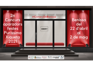 2n CONCURS APARADORS FESTES PURÍSSIMA XIQUETA 2021