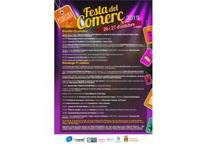 Programación de la Fiesta del Comercio en Pedreguer que se celebrará durante el próximo fin de semana