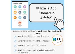 CONNECTA EL TEU COMERÇ AMB L'AJUNTAMENT D'ALFAFAR