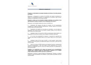 Preguntas frecuentes sobre el Real Decreto-ley 8/2020 en el ámbito tributario-Agencia Tributaria
