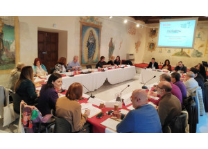 Alcoy participa en Sevilla en una reunión de la Comisión de Seguimiento de la RECE