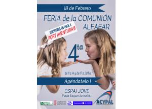 FIRA DE LA COMUNIÓ ALFAFAR 2018
