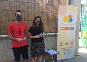 Els animadors de Joventut promocionen les activitats de la regidoria entre els joves