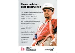 PREVENCIÓN DE RIESGOS LABORALES DE ALBAÑILERÍA Y PINTURA