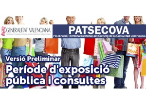 PATSECOVA. Període  d'exposició pública i consultes